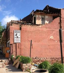 Dog groomer and other shops in downtown Hannibal damaged Monday night