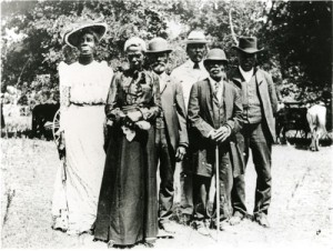 """Juneteenth celebration in Austin, Texas, on June 19, 1900."" - Wikimedia Commons"