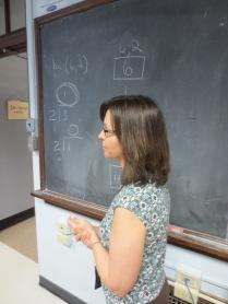Jodi Patton teaches recursion at Springfield High School