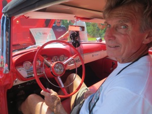 Herb Wiese with his '58 Edsel Pacer Convertible